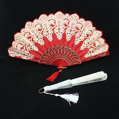 Besondere Anlässe Fans und Sonnenschirme Hochzeits-Dekorationen Asiatisch / Blumen Sommer