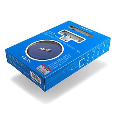 AWEI ES710i În ureche Cablu Căști Dinamic Plastic Telefon mobil Cască Cu Microfon Setul cu cască