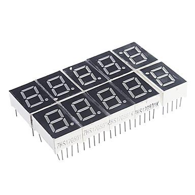 10-Pin 7-Segment-LED-Anzeige rot, gemeinsame Kathode (10 PCS)