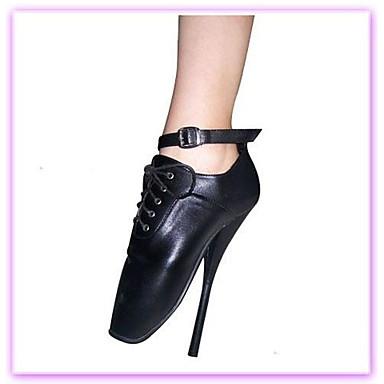 7in Výška podpatku Ženy Čerpadla sexy boty SM Obuv Ballet Shoes ... ebea73f8dd