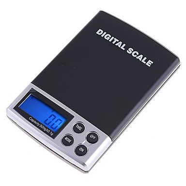 500g x 0.1g Digital cântăresc Balanța Scale bijuterii de buzunar