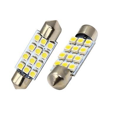 SO.K Girlande Auto Leuchtbirnen SMD 3528 60 lm Innenbeleuchtung For Universal