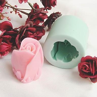 pečicí formy Kytky Koláč Sušenky Dorty Silikon Šetrný vůči životnímu prostředí Udělej si sám Valentýna