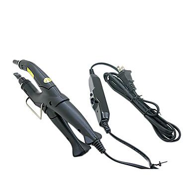 Profesionale, extensii de par reglabile Iron Fusion Keratin de căldură conector Wand negru de fier SUA Plug