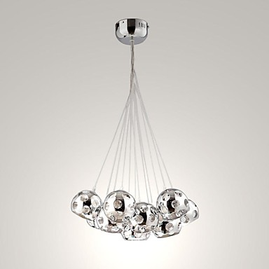 umei ™ 10 watt moderne / nutidig / globe pære inkluderet krom metal vedhæng lys