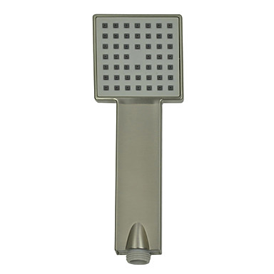 Moderne Nikkel Børstet Finish ABS Square Handle Shower Head