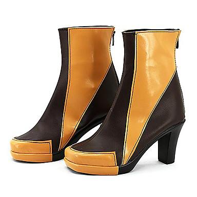 Cosplay boty Cosplay cosplay Anime Cosplay obuv PU kůže Dámské