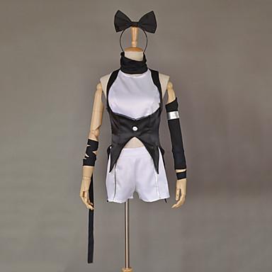 Inspirovaný RWBY Blake Belladonna Anime Cosplay kostýmy Cosplay šaty Patchwork Kabát Vlasové ozdoby Punčocháče Shoe Cover Kraťasy Pro