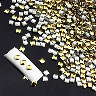 100 pcs Nail Jewelry kynsitaide Manikyyri Pedikyyri Päivittäin Abstrakti / Muoti / Kynsien korut / Metalli