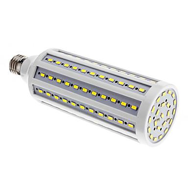 25W B22 / E26/E27 Żarówki LED kukurydza 132 SMD 5730 2000 lm Zimna biel AC 220-240 V