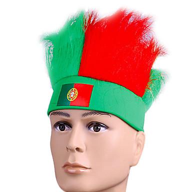 Accesoriu de Păr Festival/Sărbătoare Costume de Halloween Roșu / Verde Cordeluțe Halloween / CarnavalTerilenă / Poliester / Piele