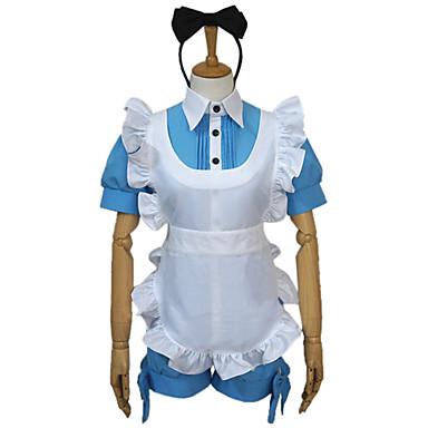 Inspiriert von Black Butler Ciel Phantomhive Anime Cosplay Kostüme Cosplay Kostüme Patchwork Top Kopfbedeckung Schürze Schleife Unterhose