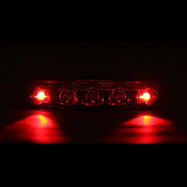 Lumini de Bicicletă / Iluminat Bicicletă Spate LED Ciclism Rezistent la apă / Lumină LED AAA Lumeni Baterie Ciclism - MOON