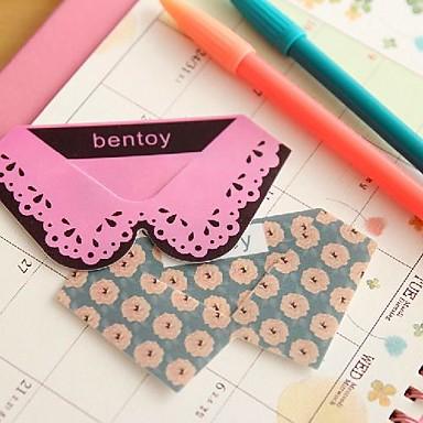 kraag plastic bookmarks tie vorm