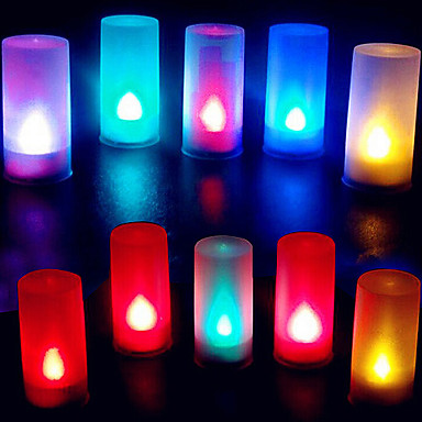 1pc Candle Light Battery Decorative