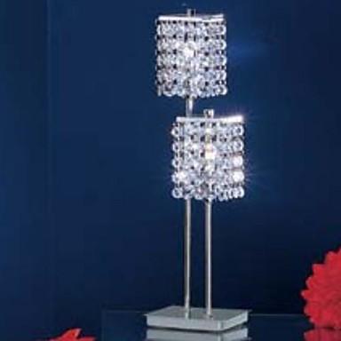 Modern/Zeitgenössisch Kristall Tischleuchte Für Metall 220-240V 100-120 V