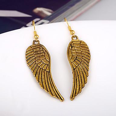 Κρεμαστά Σκουλαρίκια Χρυσό Φτερά / Φτερό Φτερό Χρυσό Κοσμήματα 2pcs