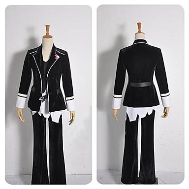 Inspirovaný Diabolik Lovers cosplay Anime Cosplay kostýmy Cosplay šaty Patchwork Dlouhý rukáv Kabát Vesta Kalhoty Pásek Pro Pánské