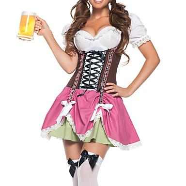 Costume menajeră Oktoberfest Costume Cosplay Costume petrecere Feminin Halloween Crăciun Carnaval An Nou Festival/Sărbătoare Costume de