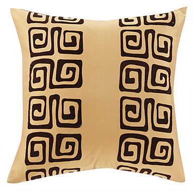 1 pcs Polyester Pillow Cover, Textured Traditional Office/Business