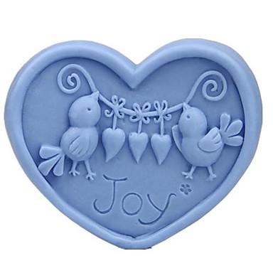 Bird JOY Shaped Bake Mold,W7.9cm x L6.8cm x H3.4cm