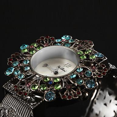 Dámské Náramkové hodinky japonština Křemenný Kapela Cikánské Stříbro