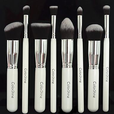 8pcs Makeup børster Profesjonell Sminkebørstesett Syntetisk hår Økovennlig / Begrenser bakterier Tre
