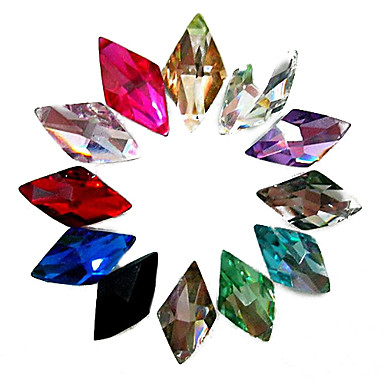 24 Rhinestones Nail Jewelry Other Decorations Abstract Fashion Wedding High Quality Daily