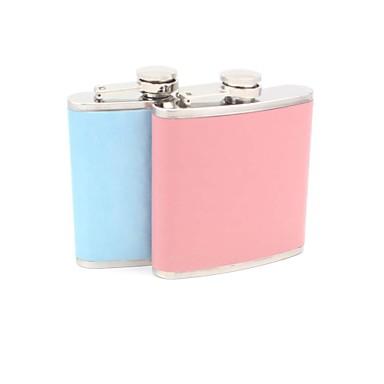 Darovi Komad / set Tikvice Ljubitelji Vjenčanje Nehrđajući čelik / Vještačka koža Non-personalizirane Tikvice Pink / Plav Poklon kutija