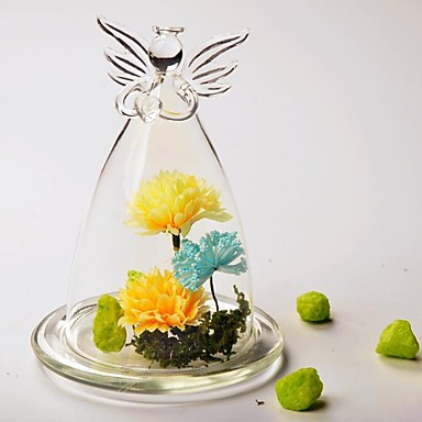 billige Borddekorasjoner-Materiale / Glass Borddekorasjon - Ikke-personalisert Andre / Glasslokk / Bord Blomst Vår / Sommer / Alle årstider