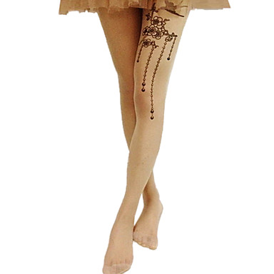 Ponožky a punčochy Sweet Lolita Lolita Lolita Lolita Příslušenství Punčocháče Tisk Pro Polyester