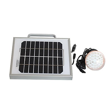 2W Solar Sistem de iluminat și încărcător de telefon mobil USB de ieșire