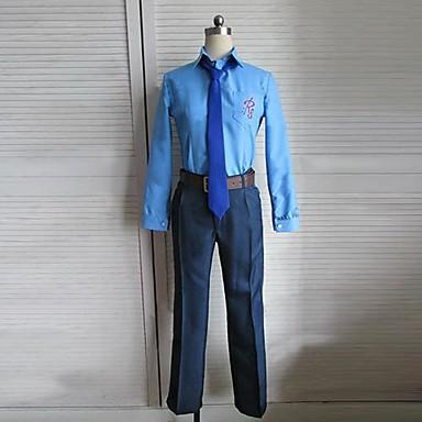 Inspirat de Cosplay Cosplay Anime Costume Cosplay Costume Cosplay Peteci Manșon Lung Cămașă / Pantaloni / Centură Pentru Bărbați