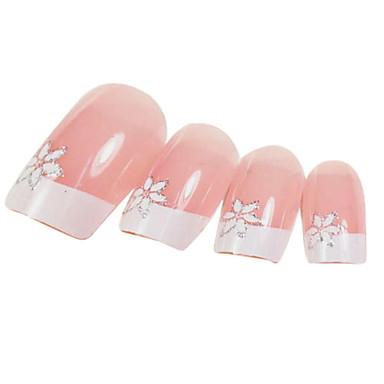 24 Nagelkunst decoratie Strass parels make-up Cosmetische Nagelkunst ontwerp