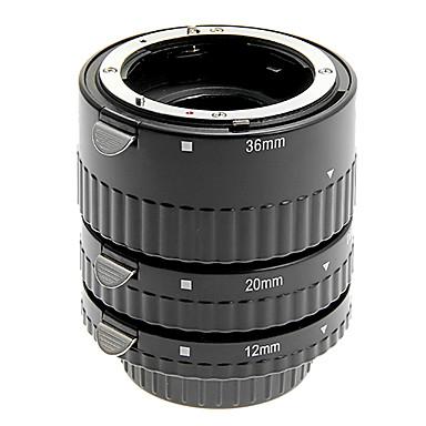 алюминиевый сплав 3 предмета Макрос Удлинитель для Nikon (серебро)