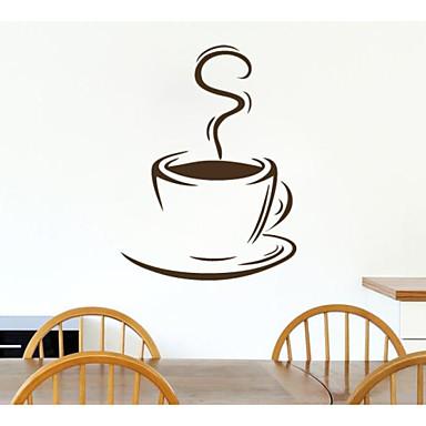 jiubai ™ model ceașcă de cafea perete autocolant de perete decal, 44cm * 60 cm