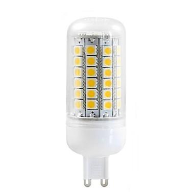 G9 LED-maïslampen T 69 SMD 5050 750 lm Warm wit Decoratief AC 220-240 V