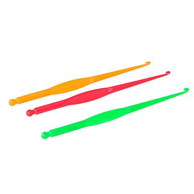 BaoGuang®10pcs Rainbow Color Loom Hook(Random Colors)