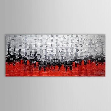 Hang-Ölgemälde Handgemalte - Abstrakt Zeitgenössisch Segeltuch