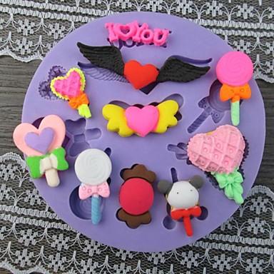 Baby Toy Shaped Bake fandant mold,L9cm*W9cm*H1cm