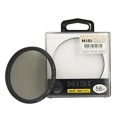 nisi® 58 mm pro kompl ultra tenký kruhový polarizační filtr objektivu