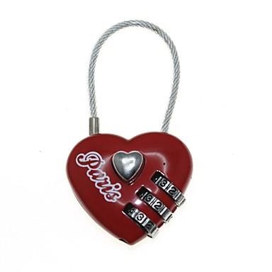 3-значный кодовый пароль сердце замок (код: 000)