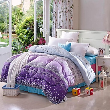 Одеяло - Shuian® - 100% синтетическое микроволокно -Полуторный комплект (Ш 173 x Д 218 см)/Full (Ш 200 x Д 230 см)/Queen (Ш 224 x Д 234