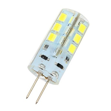 abordables Ampoules électriques-3 W LED à Double Broches 180 lm G4 24 Perles LED SMD 2835 Blanc Froid 12 V / # / CE / RoHs