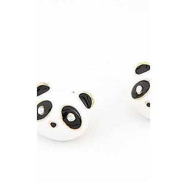 billige Moteøreringer-Øredobb Panda Dyr damer Personalisert Klassisk Mote øredobber Smykker Til Fest