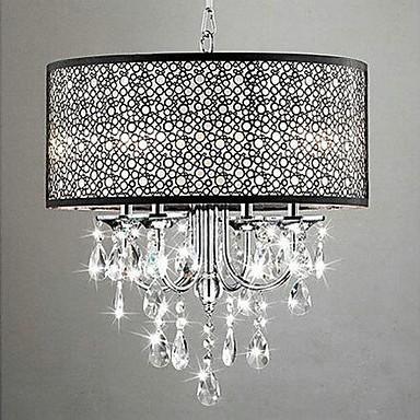 QINGMING® 5-Light Tobă Candelabre Iluminare verticală - Cristal, 110-120V / 220-240V Becul nu este inclus / 10-15㎡ / E12 / E14