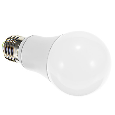 7W 600-700 lm E26/E27 Bulb LED Glob 1 led-uri COB Intensitate Luminoasă Reglabilă Decorativ Alb Rece AC 220-240V