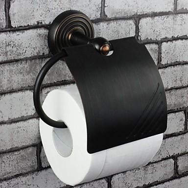 Suport Hârtie Toaletă / Bronz  Ulei Antichizat