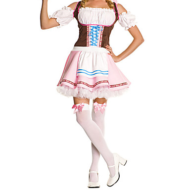 Costume menajeră Oktoberfest Costume Cosplay Costume petrecere Feminin Festival/Sărbătoare Costume de Halloween Halloween Crăciun