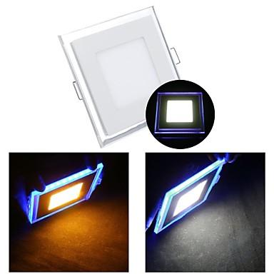 ZDM ™ 10w 1 smd 3528 650 lm warm wit / koel wit led lampjes ac 85-265 v